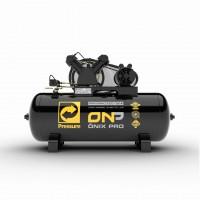 Compressor de Ar 15 Pés 140 PSI 175 Litros Monofásico 110/220V 3Hp