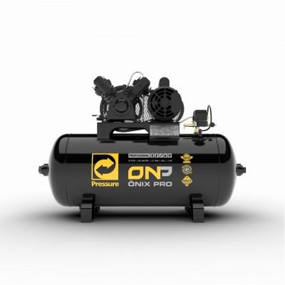 Compressor de Ar Ônix Pro 10 Pés 2HP Monofásico 100 Litros 220/380V
