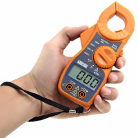 Alicate Amperímetro Digital Amarelo DT87 - Lee Tools