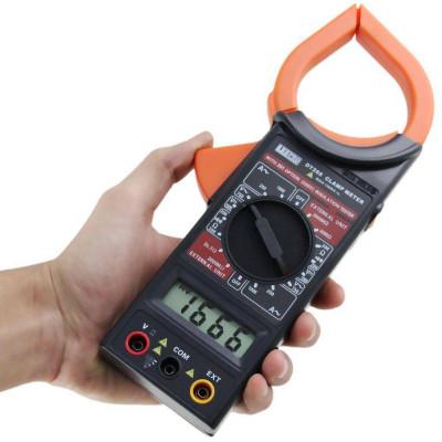 Alicate Amperímetro Digital Preto DT266 l - LEE TOOLS-673129