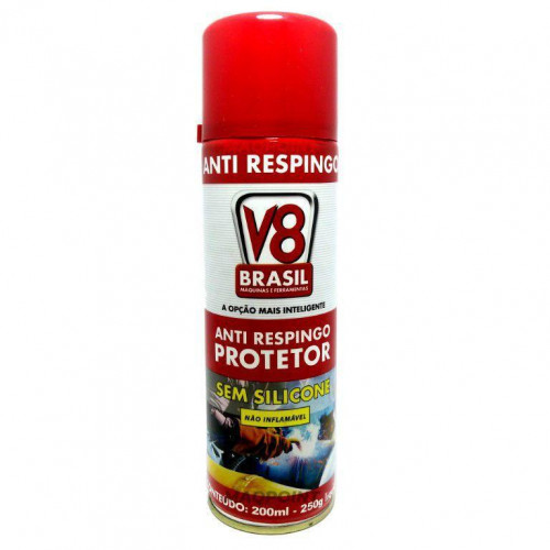 Anti Respingo Líquido Protetor 200 Ml Sem Silicone - V8 Brasil