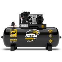 Compressor de Ar Storm 450 Monofásico 15 Pés 175 Litros 110/220V 3HP - PRESSURE-8975703012