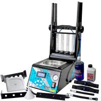 Maquina de Teste e Limpeza de Injetores/GDI, Teste de Atuadores, Corpo de Borboleta Eletrônico com Cuba de 1 Litro - KITEST-KA-201